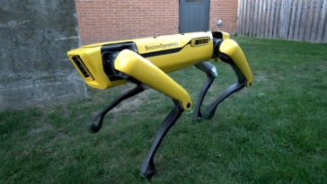 chien robot spot boston dynamics